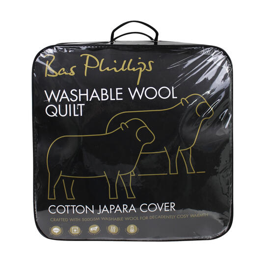 Hamper: Washable Wool Quilt - 5 sizes available | Code: 7347