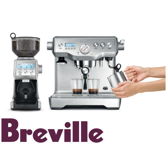 Hamper: Breville Dynamic Duo Stainless Bundle | Code: 7098