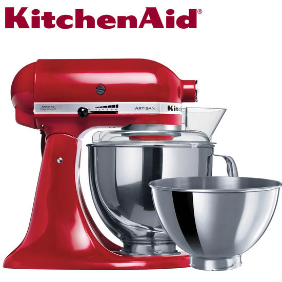 Hamper: KitchenAid Artisan Stand Mixer Empire Red | Code: 7593