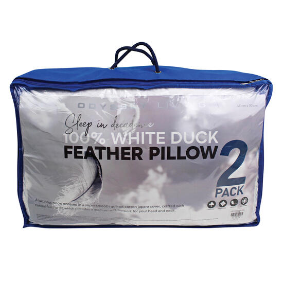 Hamper: Odyssey Feather Pillow 2 Pack | Code: 7350