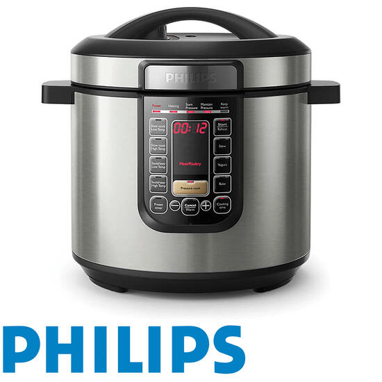 Hamper: Philips All-In-One Cooker Metal Silver | Code: 7097