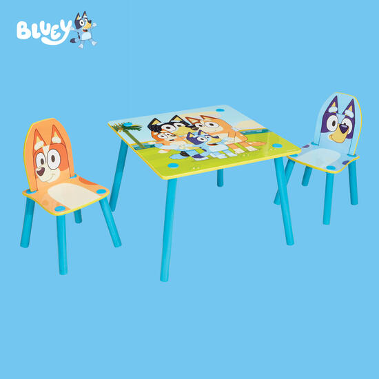 Hamper: Bluey Table And Chair Set | Code: 3443
